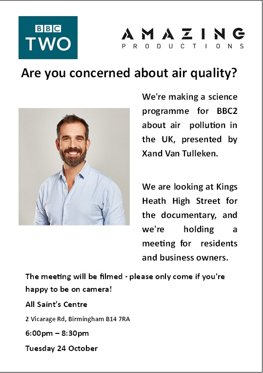 BBC2 documentary flyer